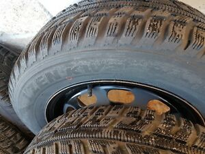 WINTER TIRES AND RIMS  195/65/15 West Island Greater Montréal image 7