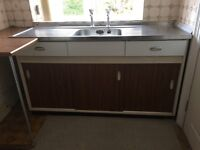 Kitchen units and sink Free !