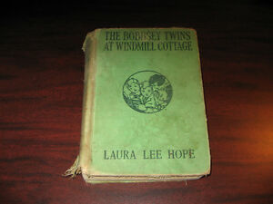 THE BOBBSEY TWINS at Windmill Cottage ..Hardcover..1938 First Ed