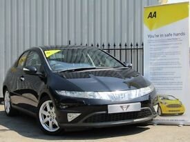 Honda Civic 1.8 I-VTEC EX (black) 2008