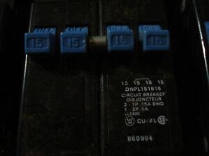Breakers Eaton Cutler-Hammer plug in duplex/quad replacement Peterborough Peterborough Area image 4