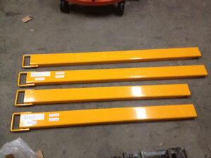 Brand New Forklift Extensions, Slippers, Tines
