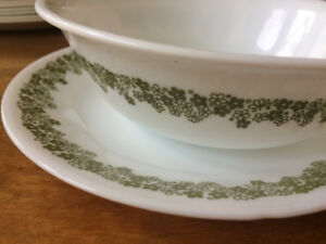 Corelle saucers and bowls