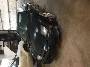 2001 Pontiac Sunfire Black Coupe (2 door)