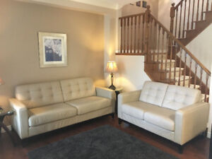 Leather Couches - Moving Sale