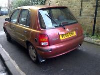 Nissan Micra 1.3 Lpg, 6 months MOT. Limited edt. A/c, 5 dr, gas. Toyota. Honda. Yaris. Starlet.