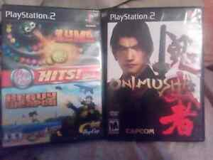 PlayStation 2 games 3$ each