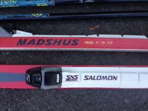 Skiis 170cm and 210 cm and poles. $30 each set