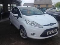 2012 (12) Ford Fiesta 1.25 (82ps)Zetec, 29,000 miles (Finance Available)