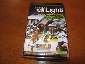 ELF LIGHT FOR CHRISTMAS DECORATING