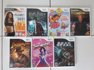Nintendo Wii games/jeux