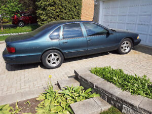Limited Edition Blueish Green '96 Chevy Impala S.S.