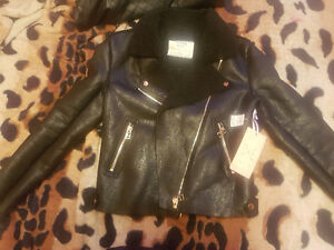 California Moonrise - Brand new Faux Leather jacket - Small
