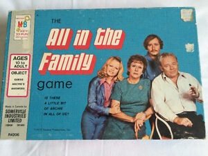 'All In The Family' Game