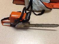 Sthil ms250 chainsaw