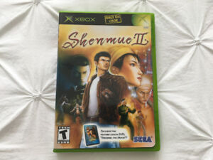 Shenmue 2 (Xbox 2001) - mint condition - 2 disc & Strategy Guide