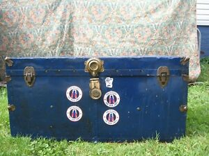 Sm. Steamer Trunk