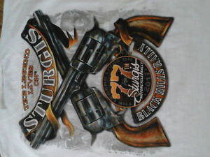2017 Licensed Sturgis T shirts with hang tags