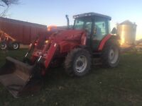 Massey Ferguson 6255 with Loader All Offers/Trades considered !!