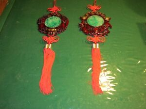 Chinese Style Jade Hanging Ornaments