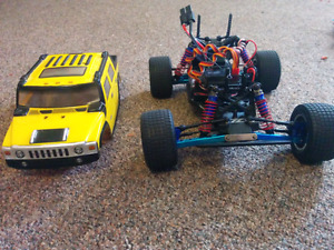 Losi mini T completely upgraded! Mint condition