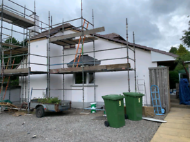 Roughcasting|Rendering|Wall insulation