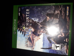 Selling Monster Hunter World xbox one (Adult Owned)
