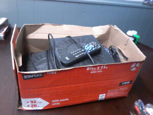 Bell Satellite receivers with remotes
