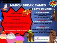 COSTPLAY STAR WARS MARCH BREAK CAMP - THURS 17TH 8:30 AM