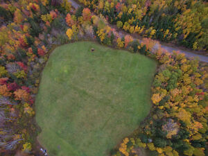 2 acres fully landscaped 10 minutes from Antigonish