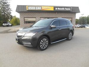 2014 Acura MDX SH-AWD 6-Spd AT w/Tech Package Peterborough Peterborough Area image 2