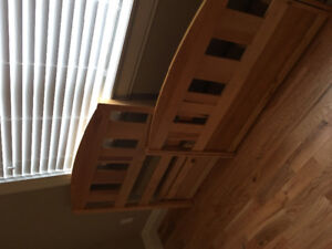 Solid Wood Mates Bed