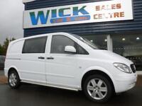 2011 Mercedes-Benz VITO 111 CDI COMPACT SWB *6 SEATER* Manual Crew Van