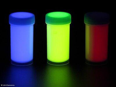 Unsichtbares Haargel Set 1 (3x25ml Farben: blau, grün, rot) - Schwarzlicht, ... (Grün Haar Gel)