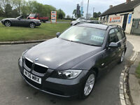 07 BMW 320D SE TOURING 107000 MILES FSH HARD TO FIND THIS CLEAN