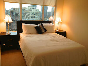Fully Furnished One bedroom Condo in Mississauga Near Sq One!