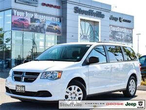 2016 Dodge Grand Caravan SXT Stow N GO With Only 19,500 KMS