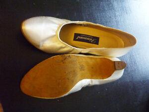 white leather dance shoes Kitchener / Waterloo Kitchener Area image 2