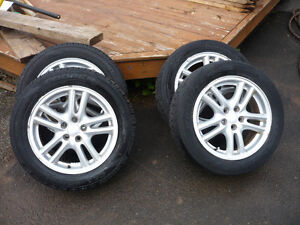 205/55R16 (4) Alloy Rims with Touring Tires