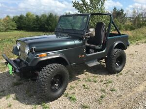 1986 Jeep CJ Convertible