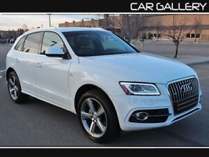 2014 Audi Q5 S-LINE w/Leather, PanoRoof, Navi $209B/W YOU'RE APP