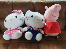 Large soft cuddly toy. Inc characters