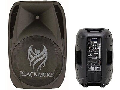 "Blackmore BJP-15BT 15"" Rechargeable PA DJ Speaker +Bluetooth +USB/SD +2Mic Input for sale  Shipping to Nigeria"