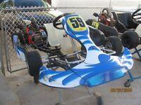 2 2013 CRG Race Karts