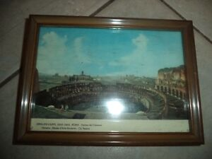 1964 Picture Postcard in Frame