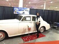 Limousine et rolls Royce Antique pour votre Mariage 450-937-5667