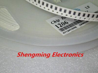 100pcs 1206 Smd Resistor 0 Ohm 10m 1k 4.7k 4k7 10k 100k 1 10 100 220 330 Ohm