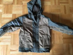 MEC 3T fleece-lined waterproof jacket