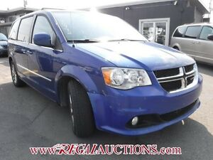 2013 DODGE GRAND CARAVAN CREW WAGON CREW
