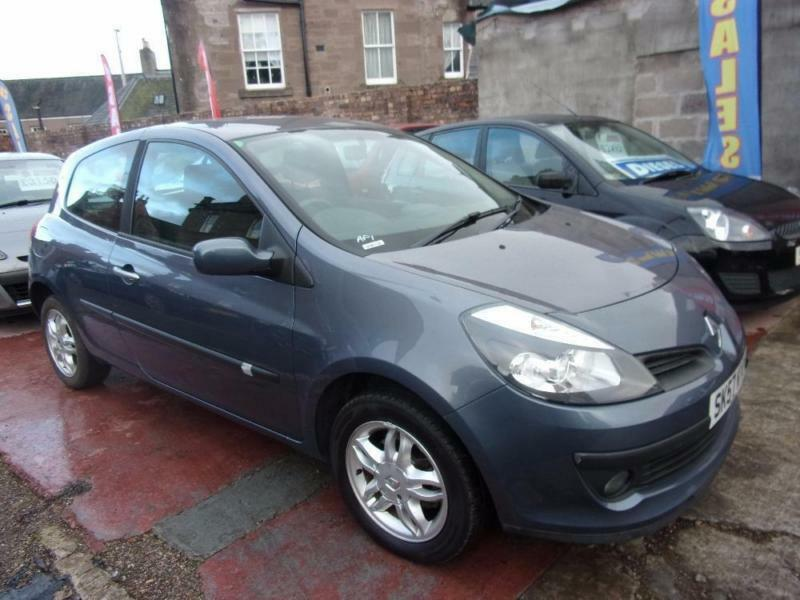 RENAULT CLIO 1.2 dynamique s tur 100 2007 Petrol Manual in Grey